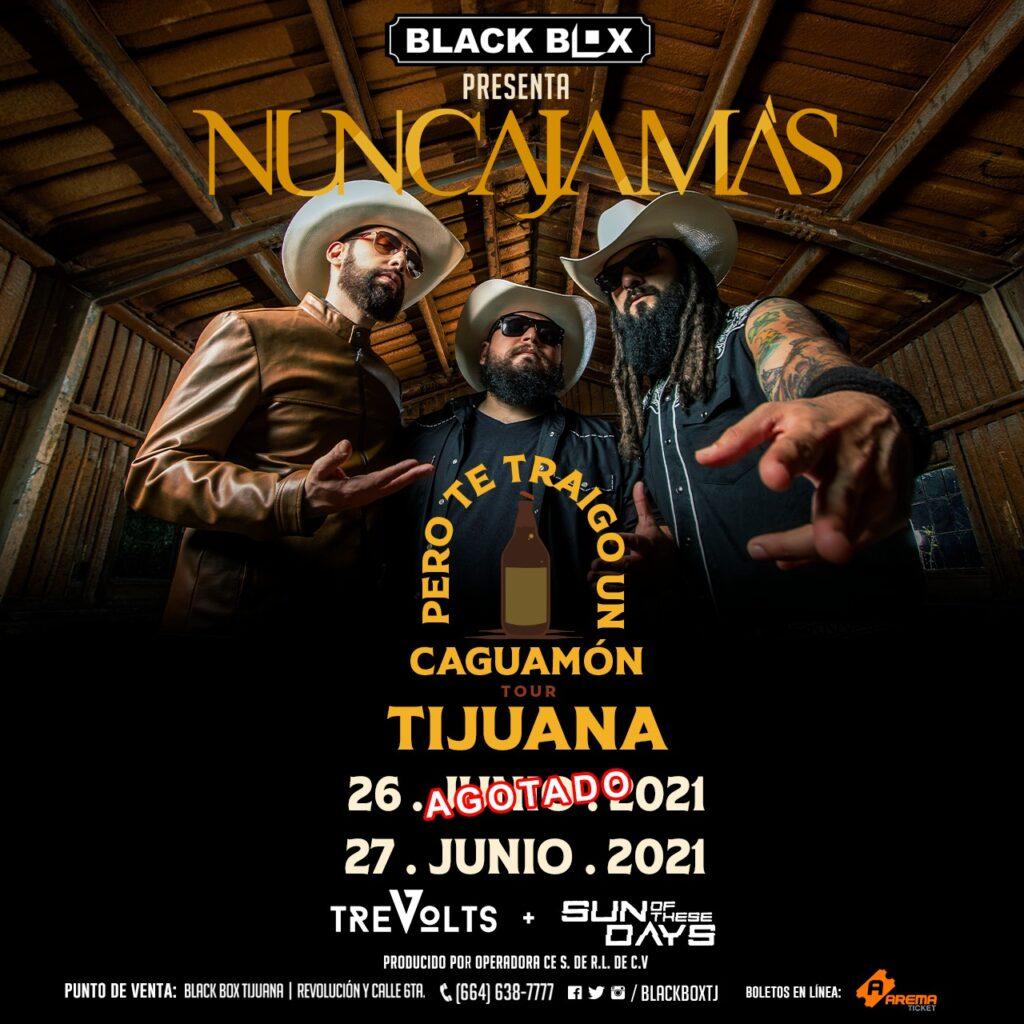 NUNCA JAMAS BLACK BOX TIJUANA 27 JUNIO